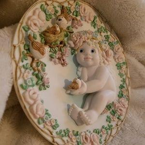 Heavens Little Helper collectors plate